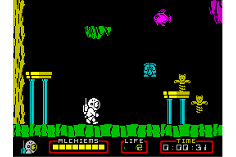 Nodes of Yesod (1985) by Odin ZX Spectrum game