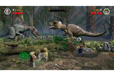 Lego Jurassic World Gameplay and Missions (Cheat Codes ...