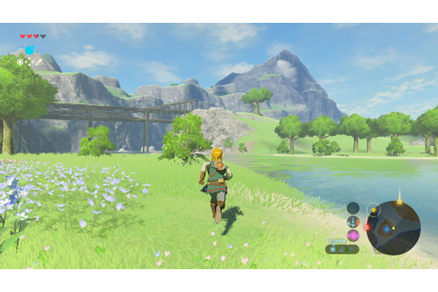 Zelda Breath of the Wild Reviews Praise Open-World ...