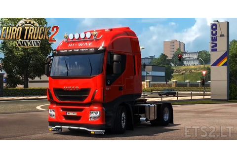 Iveco Hi Way Reworked v 1.3.1 by Schumi | ETS 2 mods