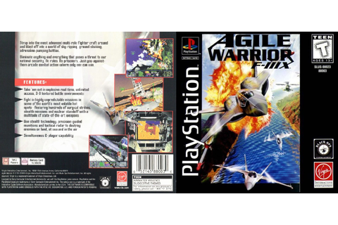 0 to Z of Playstation 1 Games - Agile Warrior F-111X