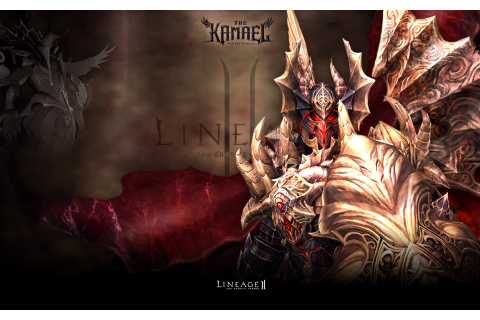 Wallpaper L2 Lineage 2 Kamael Games