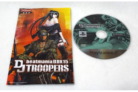 Used PS2 Beatmania IIDX 15 DJ Troopers Konami Sony ...