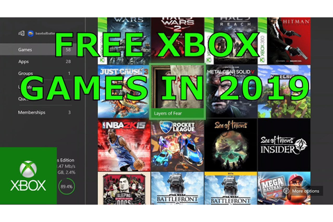 HOW TO GET FREE XBOX ONE GAMES IN 2019 (NO GLITCHES) - YouTube