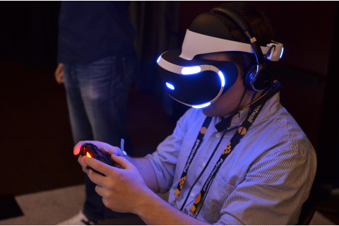 Sony Morpheus 2015 Prototype Hands-on, 'The Heist' Demo