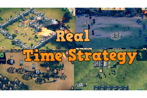 Top 15 Real Time Strategy Games For Android - YouTube