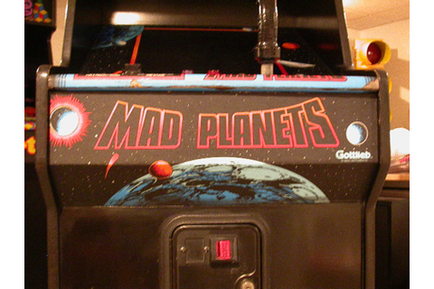 Mad Planets arcade game found in Ohio by Pittsburgh, PA ...