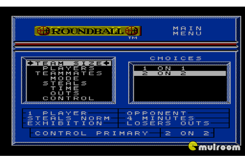 Round Ball: The Two On Two Challenge (Jeu NES) - Images ...
