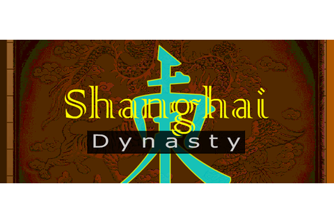 Shanghai Dynasty Mahjong game online — Play full screen ...
