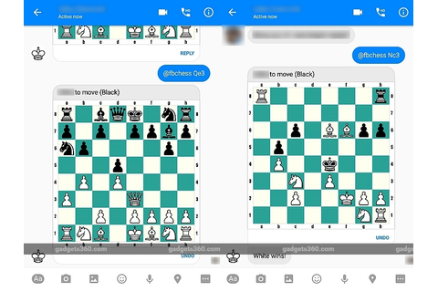 Facebook Messenger Has a Hidden Chess Game; Here's How to ...