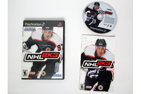 NHL 2K3 game for Playstation 2 (Complete) | The Game Guy