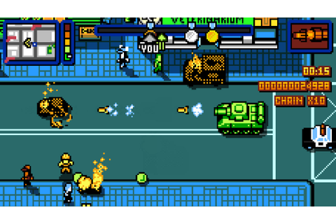 Retro City Rampage DX Review – Nintendo Times