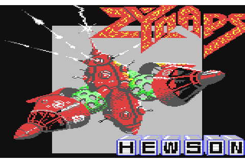 Zynaps (1987) by Hewson C64 game