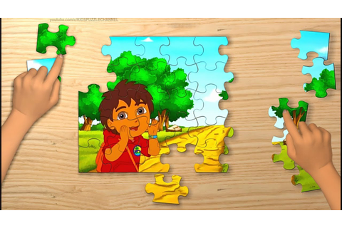 GO DIEGO GO! Game - Video for Kids - Jigsaw Puzzle - YouTube