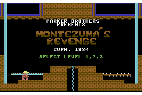 Montezuma's Revenge (1984) by Parker Brothers C64 game