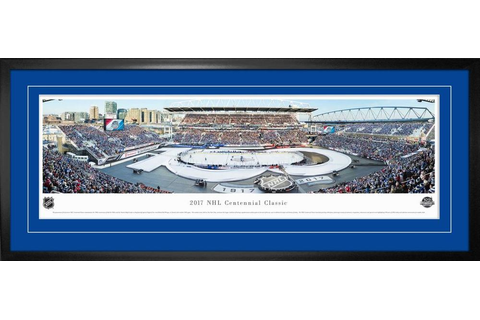 Centennial Game Framed Panorama 2017 Leafs vs Red Wings ...