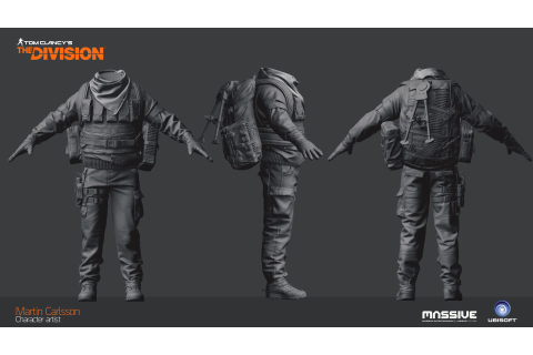 ArtStation - The Division - Last man battalion gunner ...