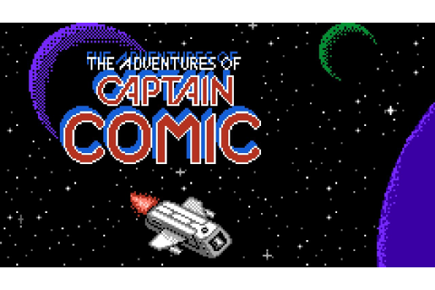 Captain Comic: The Adventure - NES Gameplay - YouTube