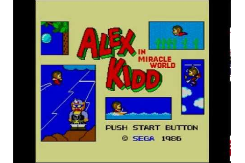 Alex Kidd in Miracle World Music (50Hz) - Petit Copter ...
