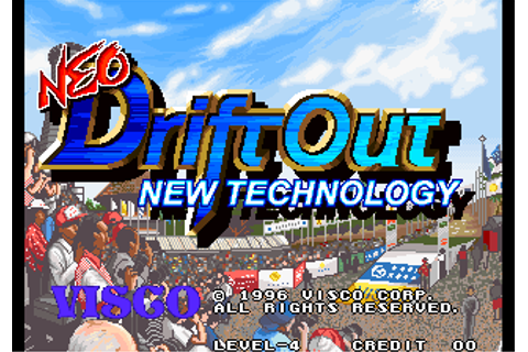 Play Neo Drift Out : New Technology SNK NEO GEO online ...