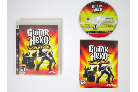 Guitar Hero World Tour (game only) game for Playstation 3 ...
