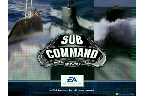 Sub Command gameplay (PC Game, 2001) - YouTube