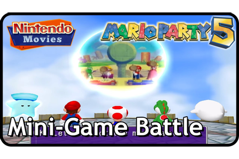 Mario Party 5 - Mini-Game Battle (Multiplayer) - YouTube
