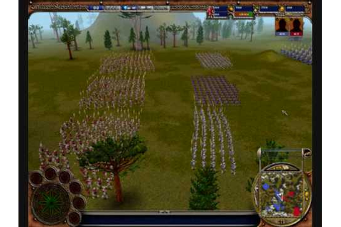 Warrior Kings Battles huge battle - YouTube