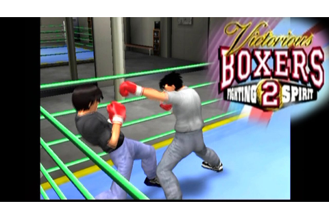 Victorious Boxers 2: Fighting Spirit ... (PS2) - YouTube