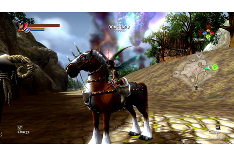 Kameo: Elements of Power Xbox 360 Gameplay - Pretty Trees ...