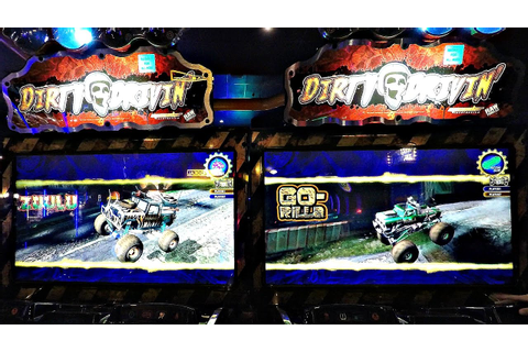 Dirty Drivin' Arcade Racing Video 2 Player Game Play レース ...