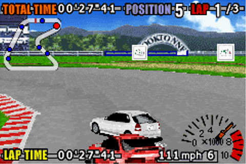 GT Advance 3 - Pro Concept Racing (U)(Mode7) ROM