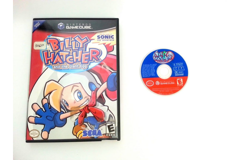 Billy Hatcher and The Giant Egg game for Gamecube | The ...