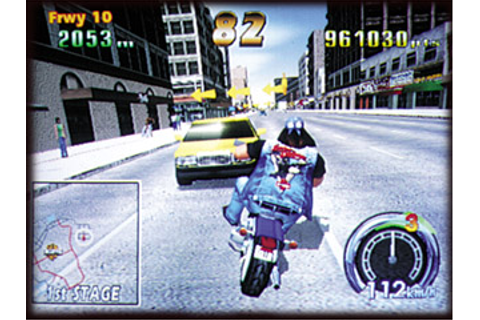 Harley Davidson & L.A Riders - Videogame by Sega