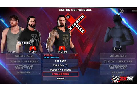 WWE 2K18 All Superstars Overalls, In-Game Renders ...