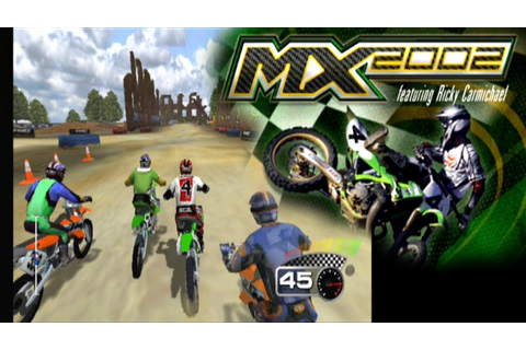 MX 2002 Featuring Ricky Carmichael ... (PS2) - YouTube