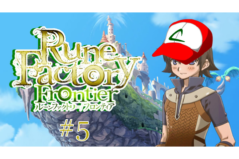 CATCHING MONSTERS | Rune Factory #5 - YouTube