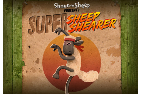 Play Shaun's Super Sheep Shearer Game! | Shaun das Schaf
