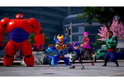 Kingdom Hearts 3 English Big Hero 6 Cutscene San Fransokyo ...