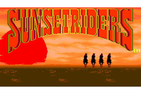 Sunset Riders (Arcade): Retro Let's Play (HD) - YouTube