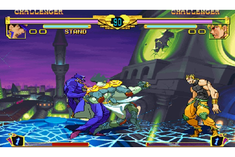 JoJo's Bizarre Adventure - Heritage For The Future (Game ...