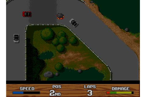 Super Cars II : The Company - Classic Amiga Games