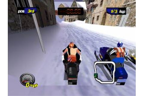 Game Classification : Polaris SnoCross (2000)