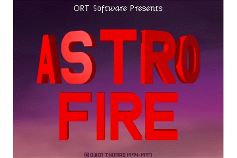 Download AstroFire | DOS Games Archive