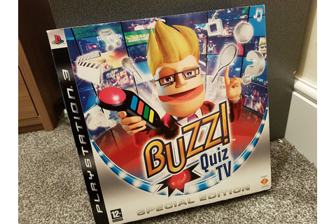 Buzz Quiz TV - Special Edition Game For PS3 - inc 4 Buzz ...