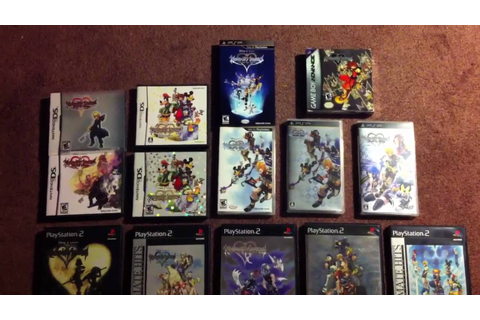 All of my Kingdom Hearts games - YouTube