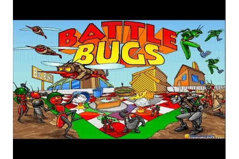 Battle Bugs gameplay (PC Game, 1994) - YouTube