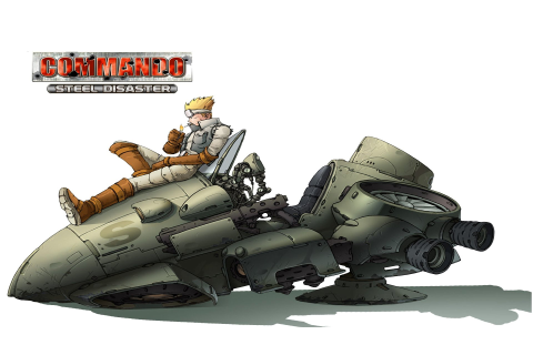 Commando: Steel Disaster HD Wallpaper | Background Image ...