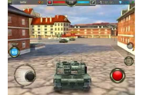 Iron Force Unbalanced Tank Game - YouTube