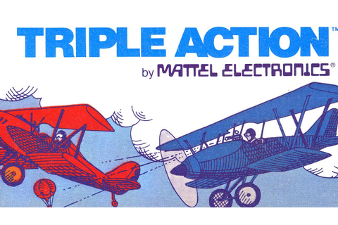 Classic Game Room - TRIPLE ACTION review for IntelliVision ...